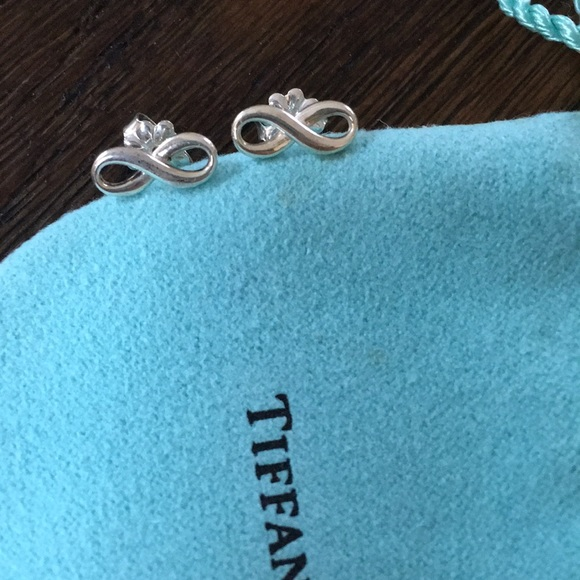 00903ef22 Tiffany and co. Sterling silver infinity earrings.  M_5b69f47a04ef50ee06292805